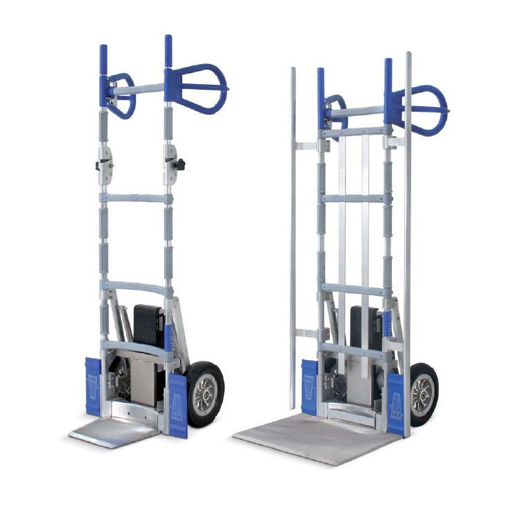 Sistema de transporte por carretilla con elevador eléctrico (copia) (copia)